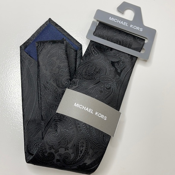 Michael Kors Black Men's Tie